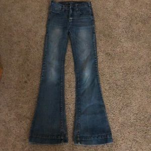 Cowgirl tuff trouser jeans! Size 14-16!